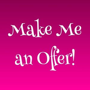 Always open to offers!!